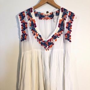 FP One Embroidered Dress